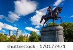 Statue Of George Washington An...