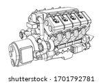 vector illustration of a... | Shutterstock .eps vector #1701792781