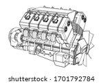 vector illustration of a... | Shutterstock .eps vector #1701792784