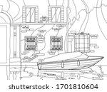 line art design for coloring...   Shutterstock .eps vector #1701810604