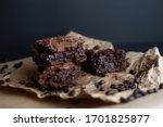 Homemade Chocolate Brownies And ...