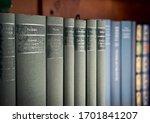 Some Philosophy Books On Shelves