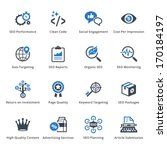 seo   internet marketing icons  ... | Shutterstock .eps vector #170184197