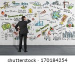 home sales thinking | Shutterstock . vector #170184254