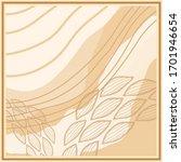 abstract silkfabric hijab scarf ... | Shutterstock .eps vector #1701946654