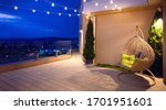 Cozy Rooftop Terrace With...