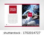 printing magazine  brochure... | Shutterstock .eps vector #1702014727