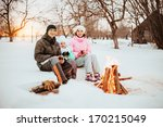 family happy outdoors. | Shutterstock . vector #170215049