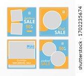 social media post template for...   Shutterstock .eps vector #1702235674