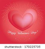 valentine's day background | Shutterstock .eps vector #170225735