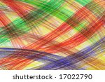 hand drawn multicoloured crayon ... | Shutterstock . vector #17022790