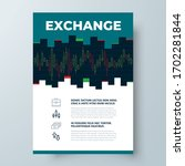 binary options chart flyer... | Shutterstock .eps vector #1702281844