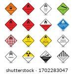 classification of dangerous... | Shutterstock .eps vector #1702283047