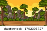 background scene with many...   Shutterstock .eps vector #1702308727