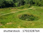 One Of The Bunkers From Verdun