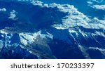 european alps as seen from... | Shutterstock . vector #170233397