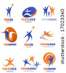 collection of man icons | Shutterstock .eps vector #17023360