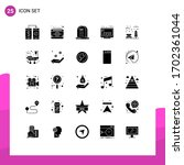 editable vector line pack of 25 ...   Shutterstock .eps vector #1702361044