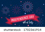 independence day july 4th.... | Shutterstock .eps vector #1702361914