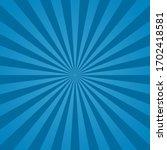 blue sunburst background.... | Shutterstock .eps vector #1702418581