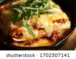 Lasagne  Flat Pasta With Cheese ...