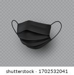 mask isolated on transparent...   Shutterstock .eps vector #1702532041
