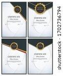 certificate template background ... | Shutterstock .eps vector #1702736794