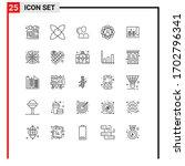 25 line concept for websites...   Shutterstock .eps vector #1702796341