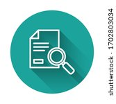 white line document with search ...   Shutterstock .eps vector #1702803034