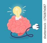 vector creative idea... | Shutterstock .eps vector #1702876087