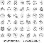 editable thin line isolated... | Shutterstock .eps vector #1702878874