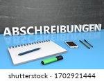 abschreibungen   german word...   Shutterstock . vector #1702921444