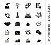 set of outline icons about...   Shutterstock .eps vector #1703051554