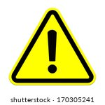 warning sign | Shutterstock . vector #170305241