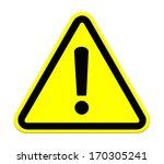 warning sign | Shutterstock . vector #170305241