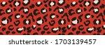 leopard skin. animal print.... | Shutterstock .eps vector #1703139457