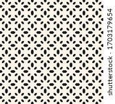 floral geometric seamless...   Shutterstock .eps vector #1703179654