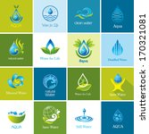 set of  water icons 2.  | Shutterstock . vector #170321081