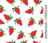 strawberries seamless pattern | Shutterstock .eps vector #170322161