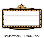 blank cinema billboard vector... | Shutterstock .eps vector #170326229