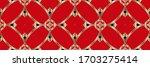 geometric pattern  gradient...   Shutterstock . vector #1703275414