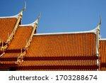 Thai Temple Roof Pattern...