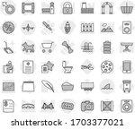 editable thin line isolated...   Shutterstock .eps vector #1703377021