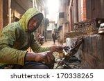 bhaktapur  nepal   dec 5 ... | Shutterstock . vector #170338265
