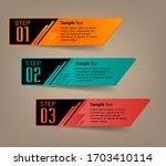 modern text box template ... | Shutterstock .eps vector #1703410114