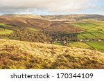 view of kinder scout  highest...