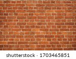 Brick Red Wall. Background Of A ...