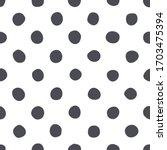 polka dot seamless pattern.... | Shutterstock .eps vector #1703475394