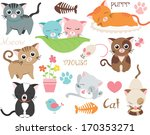 love cats   Shutterstock .eps vector #170353271