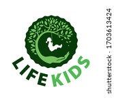 family logo tree people... | Shutterstock .eps vector #1703613424
